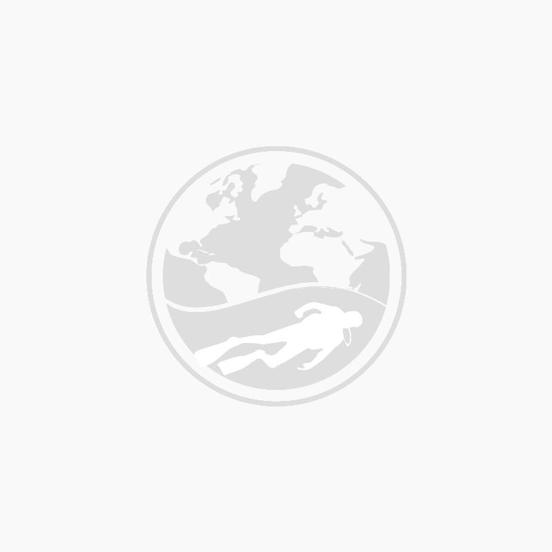 Duikfles Staal 300 bar met dubbele kraan