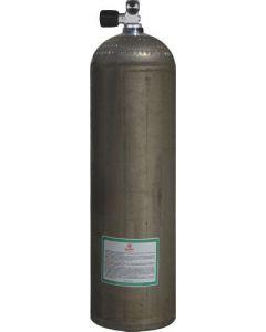 Duikfles 80CF - Aluminium 207 Bar Zilver