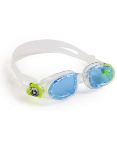 Moby Kid Clear / Lime Blue len
